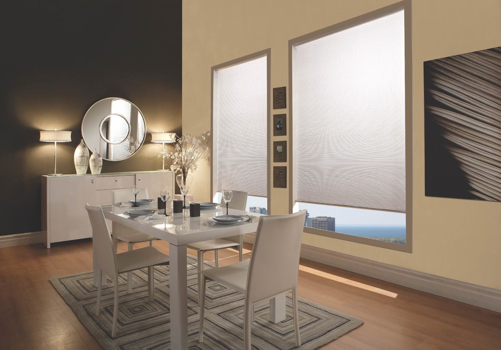 Blackout curtains, shades, blinds, and window treatements from ShadesatBlue.com in Collingwood