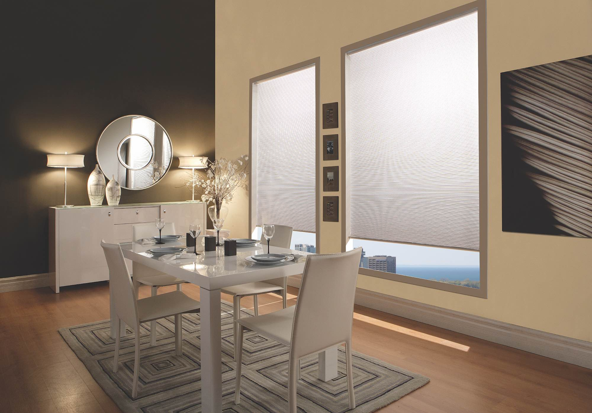 Windows covering store blinds and shades in Collingwood or Blue Mountains Ontario