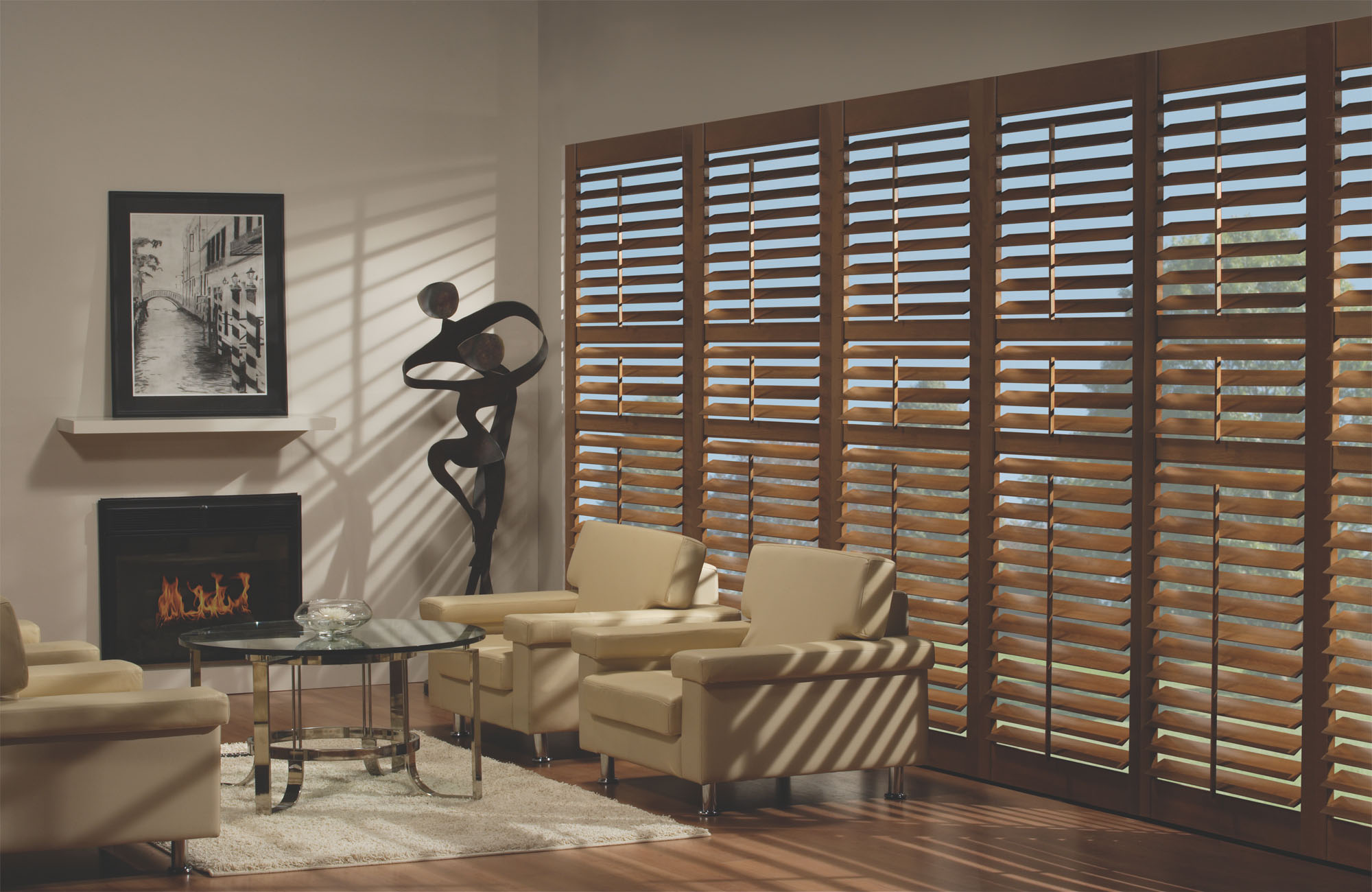 Advanced light filtering and UV protection with our entire line including budget blinds