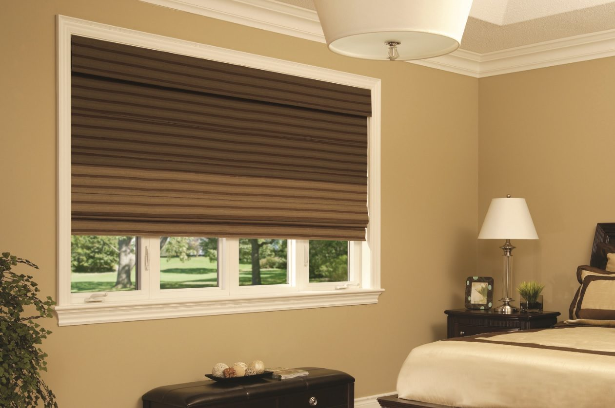 Classic Roman blinds suit almost every room with timeless elegance