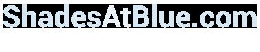 ShadesatBlue.com – Budget Blinds & Window Coverings Logo